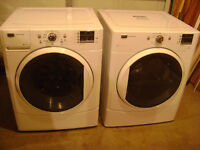 Maytag stacking washer & dryer