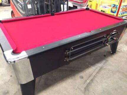 Ex Pub SlateCoin Operated Pool Table Pick Up Clontarf QLD - Pool table pick up