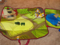 John Deere Toybox Play Mat with Tractor