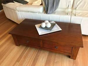 Coffee table two drawers Bolwarra Maitland Area Preview