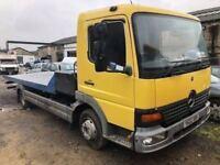 Mercedes Atego 7.5 tonne tilt and slide lorry, 8 months MOT, LEZ compliant, goes into London, expens