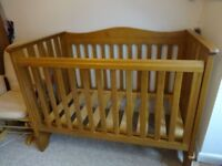 Boori Cot/Toddler Bed & Baby Change Table