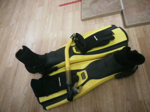Trading diving gear