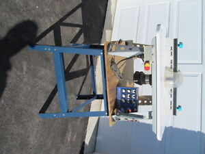 variable speed bench jointer