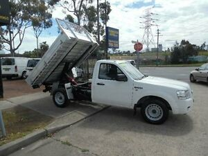 2008 Ford Ranger PJ 07 Upgrade XL(4x2)TIPPER White 5 Speed Manual Cab Chassis Homebush West Strathfield Area Preview