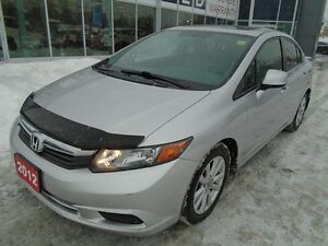 2012 Honda Civic **LOADED SUNROOF & BLUETOOTH** EX