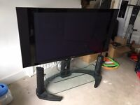 Pioneer 50 inch Plasma PDP 508XD + audio panels + stand + remote + manual