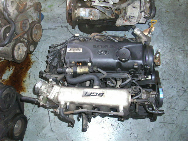 Hyundai Accent 1.5L engine