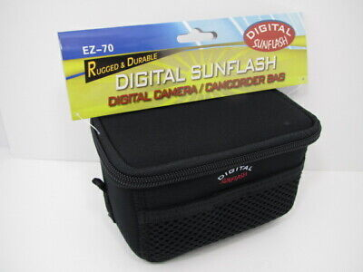 Rugged and Durable Digital Sunflash Camera/ Camcorder Case #EZ-70