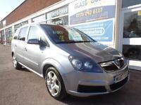 Vauxhall Zafira 1.8i 16v VVT 2007 Energy 7 seats S/H good miles 86k p/x swap