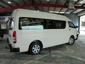 2011 Toyota Hiace KDH223R MY11 Commuter High Roof Super LWB White 4 Speed Automatic Bus Welshpool Canning Area Preview