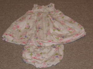 MACY & ZOE DRESS TODDLER 18M