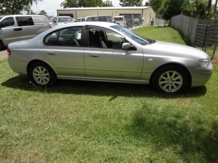 2005 Ford Falcon BA MkII Futura Silver 4 Speed Auto Seq Sportshift Wagon Oxley Brisbane South West Preview