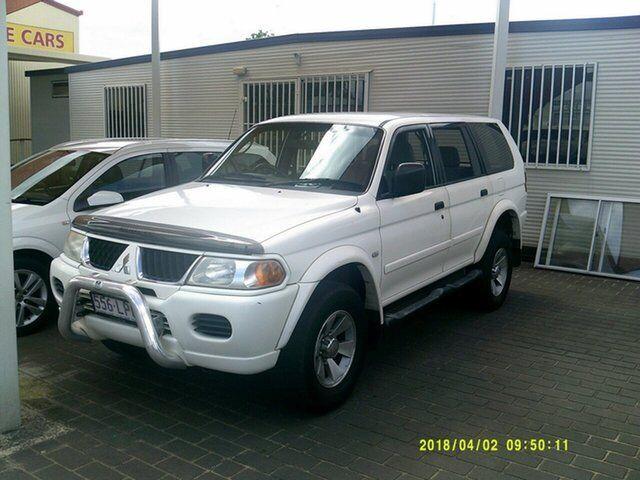 2005 Mitsubishi Challenger Pa My05 4x4 White 4 Speed Automatic 4x4