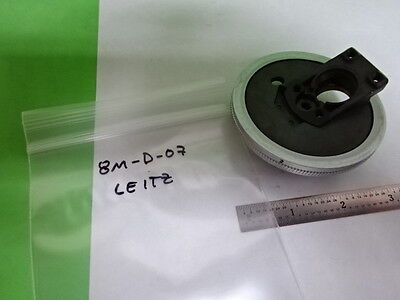 Microscope Part Leitz Germany Sm-lux Nosepiece As Is Bin8m-d-07