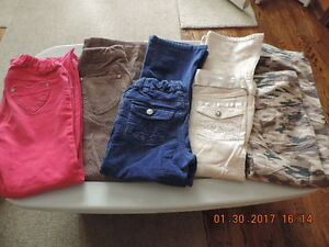 Girl's Size 7 Pants & Cords