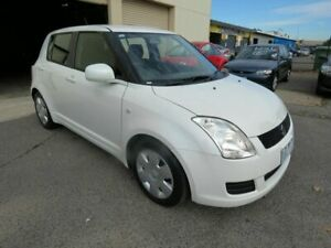 2009 Suzuki Swift EZ 07 Update White 4 Speed Automatic Hatchback Werribee Wyndham Area Preview