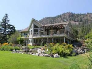 Gorgeous 4Bd/3Bth Barnhartvale Home on WATERFRONT Property