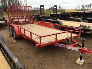 "*SAVE $550* 2017 LOAD TRAIL 83"" x 16FT UTILITY TRAILER (7K GVW)"