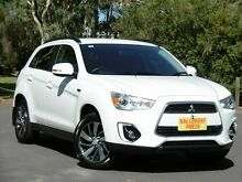 2014 Mitsubishi ASX XB MY15 LS 2WD White 5 Speed Manual Wagon Melrose Park Mitcham Area Preview