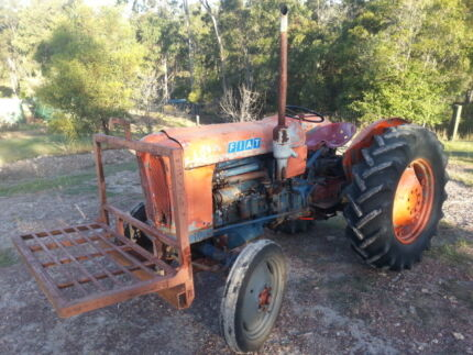 Fiat Tractor 411R 58 model was old Grey and Gold Gympie Gympie Area Preview