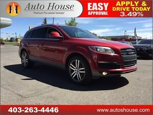2009 Audi Q7 4.2 FULLY LOADED 7 PASSENGER 90 DAYS NO PAYMENTS