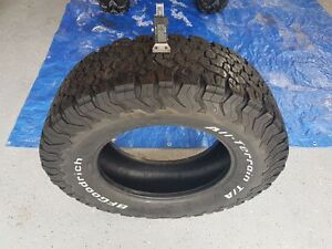 Used BFG All Terrain T/A K02 LT265/70R18