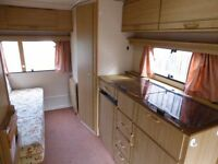 Abi Marauder 5 berth caravan with awning. Can deliver.