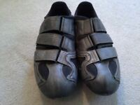 Shimano Cycling Road Shoes With Cleats size 46