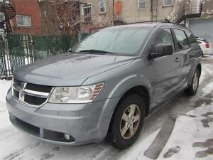 2010 DODGE JOURNEY 4 Cylind 7 PLACES  FINANCEMENT $46 SEMAINE