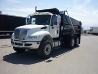 2016 International 7400 6x4, New Gravel Truck