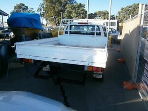 2004 Holden Rodeo DIESEL SPACE CA JUST PITTED #154 White 5 Speed Manual Trayback Maddington Gosnells Area Preview