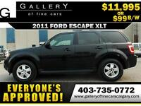 2011 Ford Escape XLT $99 bi-weekly APPLY NOW DRIVE NOW
