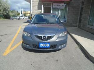 2008 Mazda 3 Sport w/ a CLEAN CARPROOF + 4 extra tires on rims