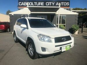 2012 Toyota RAV4 ACA38R CV (2WD) White 4 Speed Automatic Wagon Morayfield Caboolture Area Preview