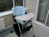 Chico Babies/Childs High Chair in very good condition