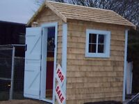 Garden house; ideal as a children's playhouse or for storage