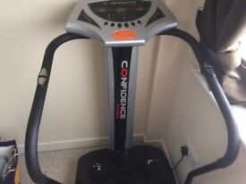 vibration plate in immaculate condition hardly ever used