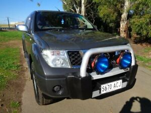 2007 Nissan Navara Grey Automatic Utility Mile End South West Torrens Area Preview