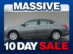 2016 Nissan Sentra 1.8 S 4dr Sedan ( MASSIVE 10 DAY SALE! )