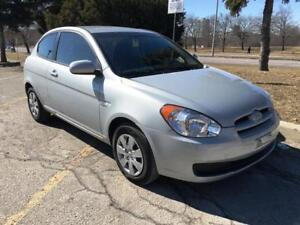 2011 HYUNDAI ACCENT, LOW KM, 1 OWNER, AC