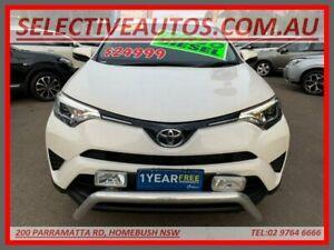 2016 Toyota RAV4 ALA49R MY17 GX (4x4) White 6 Speed Automatic Wagon Homebush Strathfield Area Preview