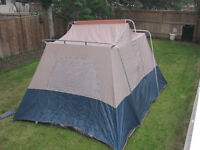 2 tents for sale $55.00 each 1 is outside poles