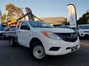 2012 Mazda BT-50 XT (4x2) White 6 Speed Manual Cab Chassis Mount Hawthorn Vincent Area Preview