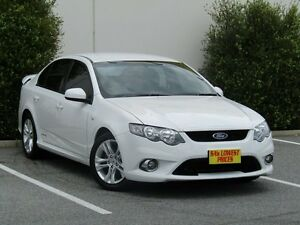 2009 Ford Falcon FG XR6 White 5 Speed Sports Automatic Sedan Melrose Park Mitcham Area Preview