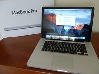 "REDUCED - Apple MacBook Pro 15"" Mid 2012 i7 120GB SSD 4GB Ram"