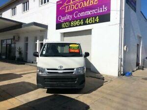 2012 Toyota HiAce TRH201R MY11 Upgrade LWB White 4 Speed Automatic Van Lidcombe Auburn Area Preview