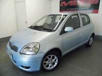 Toyota Yaris 1.3 VVT-i Blue 5 Door 2005 Low Mileage Excellent Condition