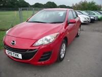 MAZDA 3 TS - FSH, Red, Manual, Petrol, 2011