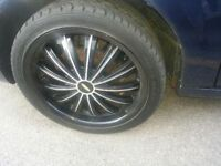 18 inch rims and Goodyear eagle gt tires $650 obo